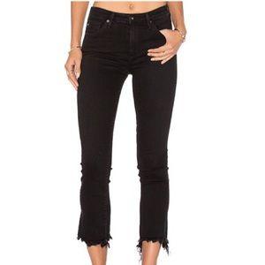 AG Adriano Goldschmied The Jodi Crop Raw Hem Jeans